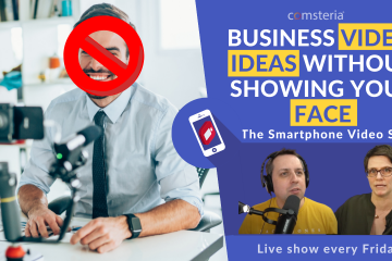 Business video ideas without showing your face